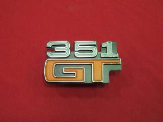 XA 351 GT GUARD BADGE