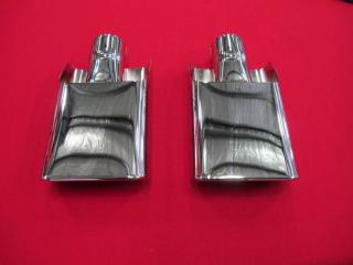 FORD FALCON XA XB GT REAR EXHAUST TIPS PAIR BRAND NEW SUIT COUPE OR SEDAN RPO
