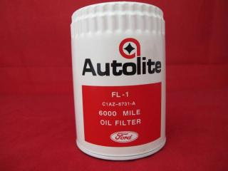 RIBBED AUTOLITE OIL FILTER