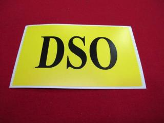 DSO DECAL