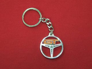 GT STEERING WHEEL KEY RING